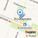 Приап на карте Санкт-Петербурга