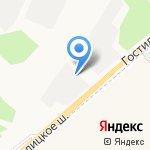 Петродворцовое на карте Санкт-Петербурга