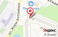 Схема проезда до компании Петергофская Торговая Компания в Ломоносове
