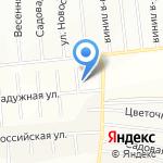 Радужный на карте Санкт-Петербурга