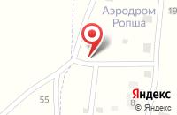 Схема проезда до компании ELAGINA недвижимость в Ропше