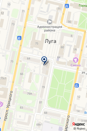 ФОТОАТЕЛЬЕ АЛМАЗ на карте Луги