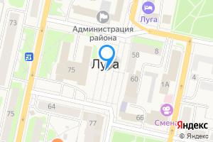 Однокомнатная квартира в Луге Ленинградская область, поселок Городок, 306