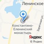 Константино-Еленинский Женский Монастырь на карте Санкт-Петербурга