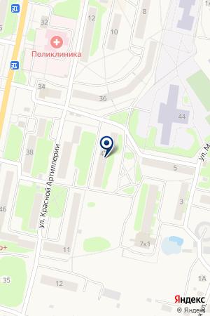 ЗООМАГАЗИН МАРКИЗ на карте Луги