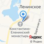 Константино-Еленинская Церковь на карте Санкт-Петербурга