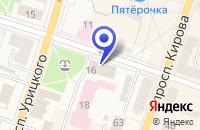 Схема проезда до компании РУБИКОН в Луге