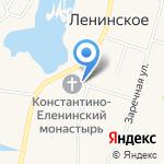 Никольская Церковь на карте Санкт-Петербурга