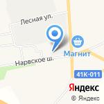 У камина на карте Санкт-Петербурга