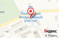 Схема проезда до компании ЖБИ ТОРГ в Ропше