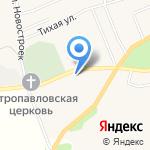 Авторопша на карте Санкт-Петербурга