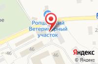 Схема проезда до компании Чистомытов в Ропше