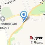 Дачный центр №1 на карте Санкт-Петербурга
