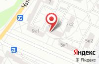 Схема проезда до компании Амеган в Петродворце