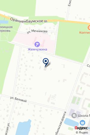 ГУ САДОВО-ПАРКОВОЕ ПРЕДПРИЯТИЕ ФЛОРА на карте Петергофа