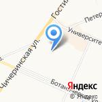 Магазин хлебобулочных и кондитерских изделий на карте Санкт-Петербурга