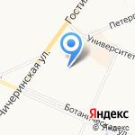 Суши & Пицца на карте Санкт-Петербурга