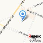 Петропром на карте Санкт-Петербурга