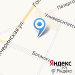 Детский сад №33 комбинированного вида на карте Санкт-Петербурга
