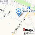 Управление МВД России по Петродворцовому району на карте Санкт-Петербурга