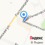 Магазин сумок и бижутерии на карте Санкт-Петербурга