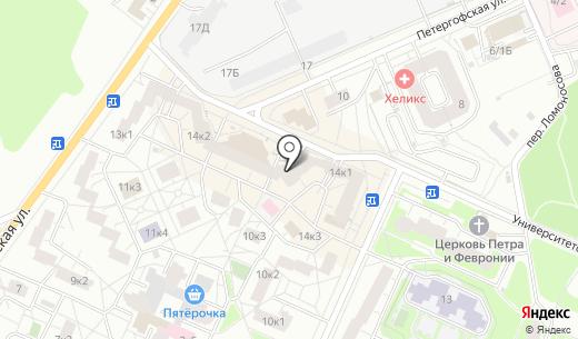 Орифлейм Косметикс. Схема проезда в Санкт-Петербурге