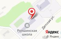 Схема проезда до компании Ропшинская средняя общеобразовательная школа в Ропше