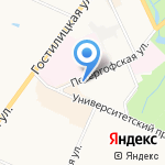 Робинзон на карте Санкт-Петербурга