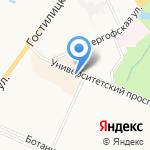 Остров мод на карте Санкт-Петербурга