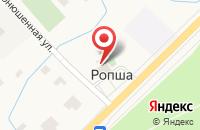 Схема проезда до компании Администрация Ропшинского сельского поселения в Ропше
