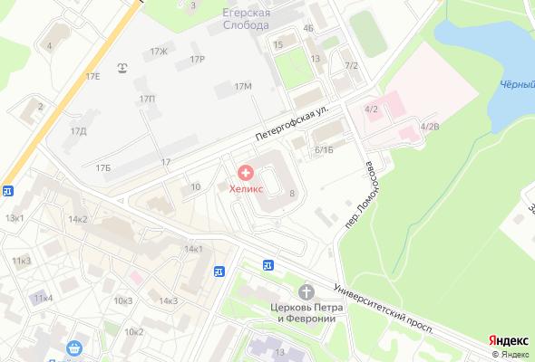 жилой комплекс Старопетергофский