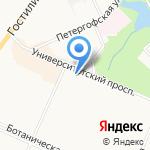 Мармелад на карте Санкт-Петербурга
