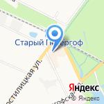 Магазин профессиональной косметики на карте Санкт-Петербурга