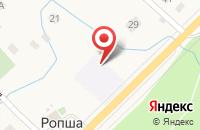 Схема проезда до компании Santehikov в Ропше