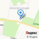 Храм Преподобного Серафима Саровского на карте Санкт-Петербурга