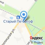 СЕЗАМ на карте Санкт-Петербурга