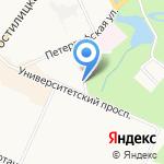Шаверма на карте Санкт-Петербурга