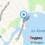 Царская рыбалка на карте Санкт-Петербурга
