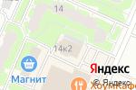 Схема проезда до компании КТВ-Петергоф в Санкт-Петербурге