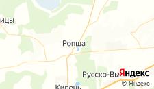 Гостиницы города Ропша на карте