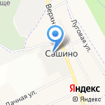 ЛЕРИКА на карте Санкт-Петербурга