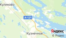 Отели города Березово на карте