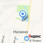 Средняя общеобразовательная школа на карте Санкт-Петербурга