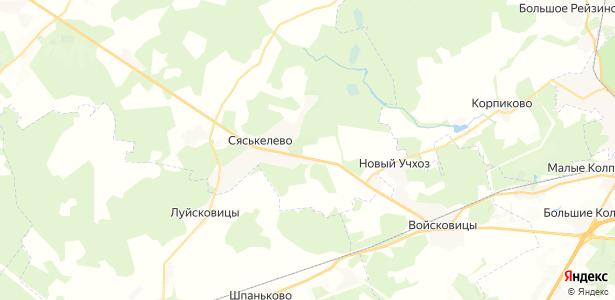 Реболово на карте