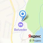 Императорский Бельведер на карте Санкт-Петербурга