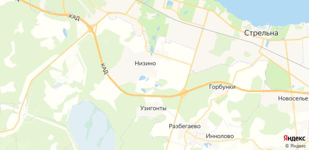 Жилгородок на карте