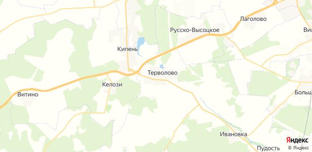 Терволово на карте