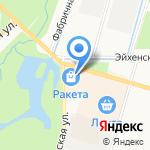 Мира на карте Санкт-Петербурга