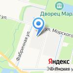 Металлист на карте Санкт-Петербурга