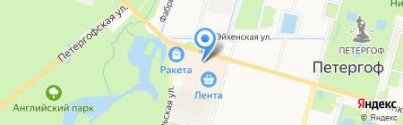 Здоровые Люди на карте Санкт-Петербурга
